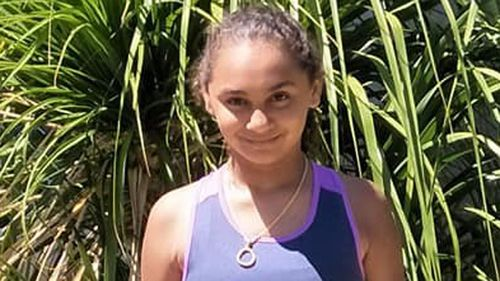 Denishar Woods suffered an electric shock at the family home in Beldon. (9NEWS)