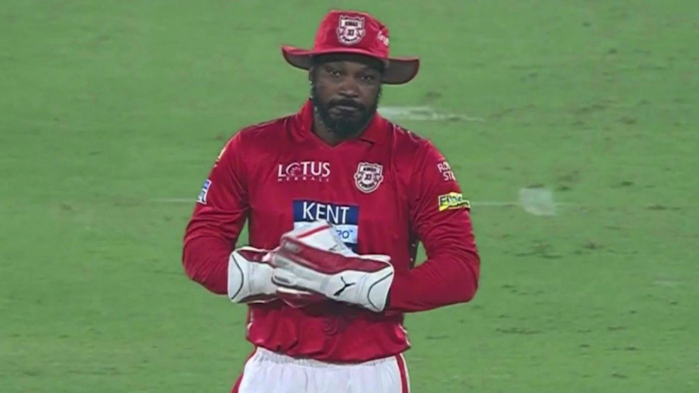 Chris Gayle's on-field antics light up IPL T20 matchup