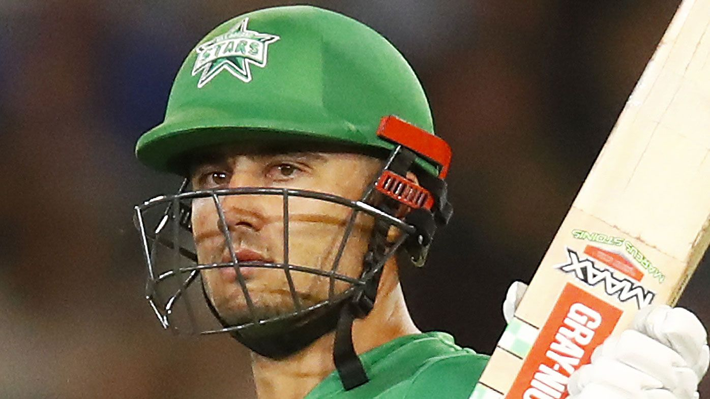 Marcus Stoinis fined for alleged homophobic slur during Stars vs Renegades BBL clash
