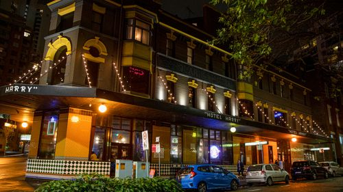 A positive coronavirus case has been linked to the Harpoon and Harry Hotel in Surry Hills.
