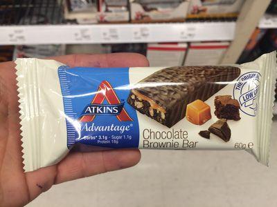<strong>Atkins Advantage Chocolate Brownie Bar</strong>