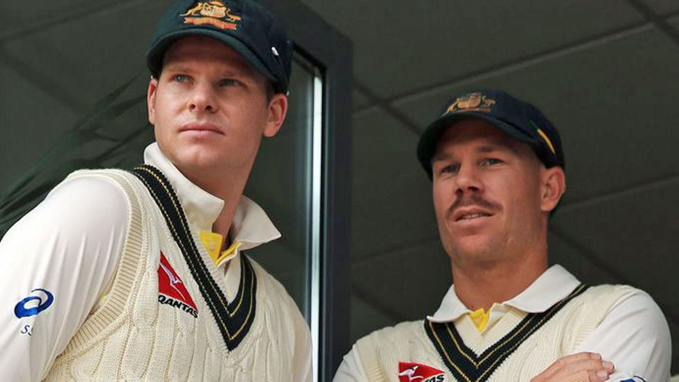 Smith and Warner cricket