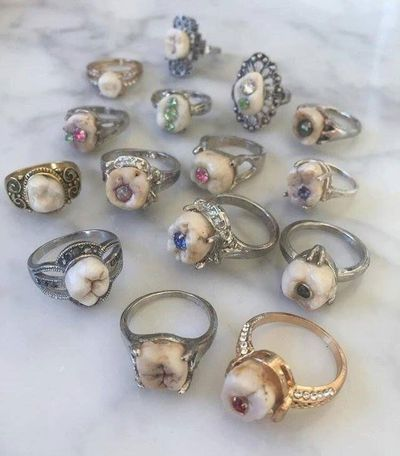 Tooth engagement rings