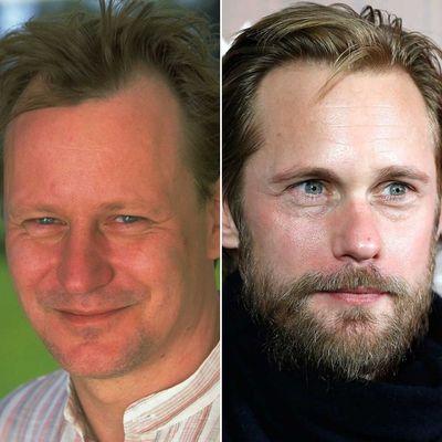 Stellan Skarsgård and Alexander Skarsgård