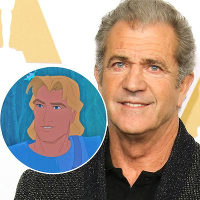 Mel Gibson as John Smith in Pocahontas