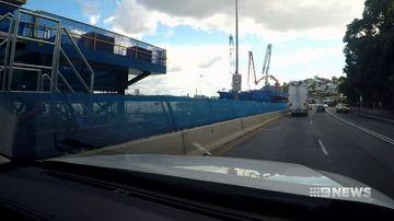 Kingsford Smith Drive upgrade causing traffic headache