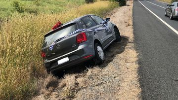 Police received reports of a Volkswagen Polo Hatch driving erratically on the Barton Highway, north of Canberra late last month.
