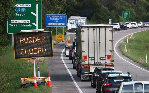 Queensland border closure.