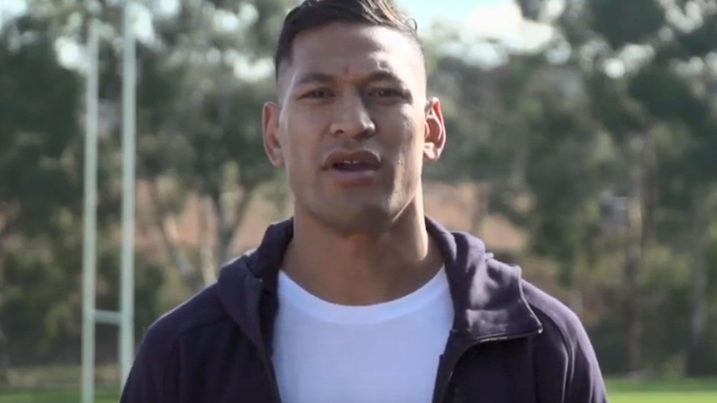 Folau has made a plea to fans