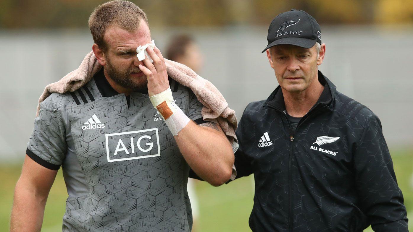 Rugby: Photo surfaces of All Blacks prop Joe Moody's gruesome eye injury