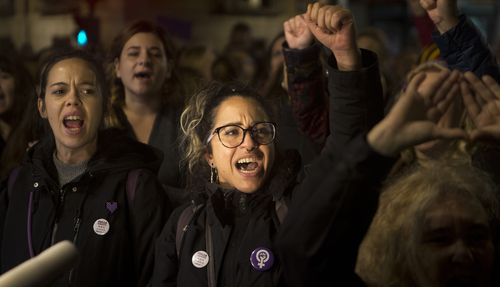 Thousands in Spain are demonstrating to demand changes in criminal laws and the country's judiciary after a new ruling on a sex assault case revived the debate over the fair treatment of victims.