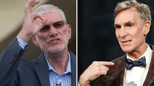 'Science Guy' Bill Nye makes no friends on Noah's Ark visit