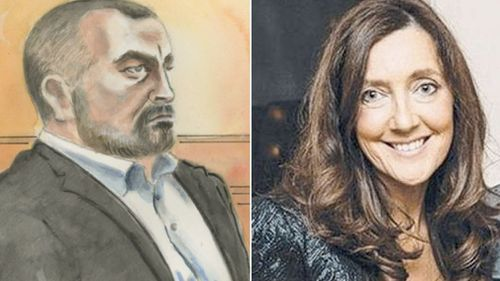 Borce Ristevski was ordered to stand trial for the murder of his wife, Karen, last week. Picture: 9NEWS