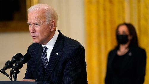 Joe Biden said he thought Vladimir Putin was a 'killer'.