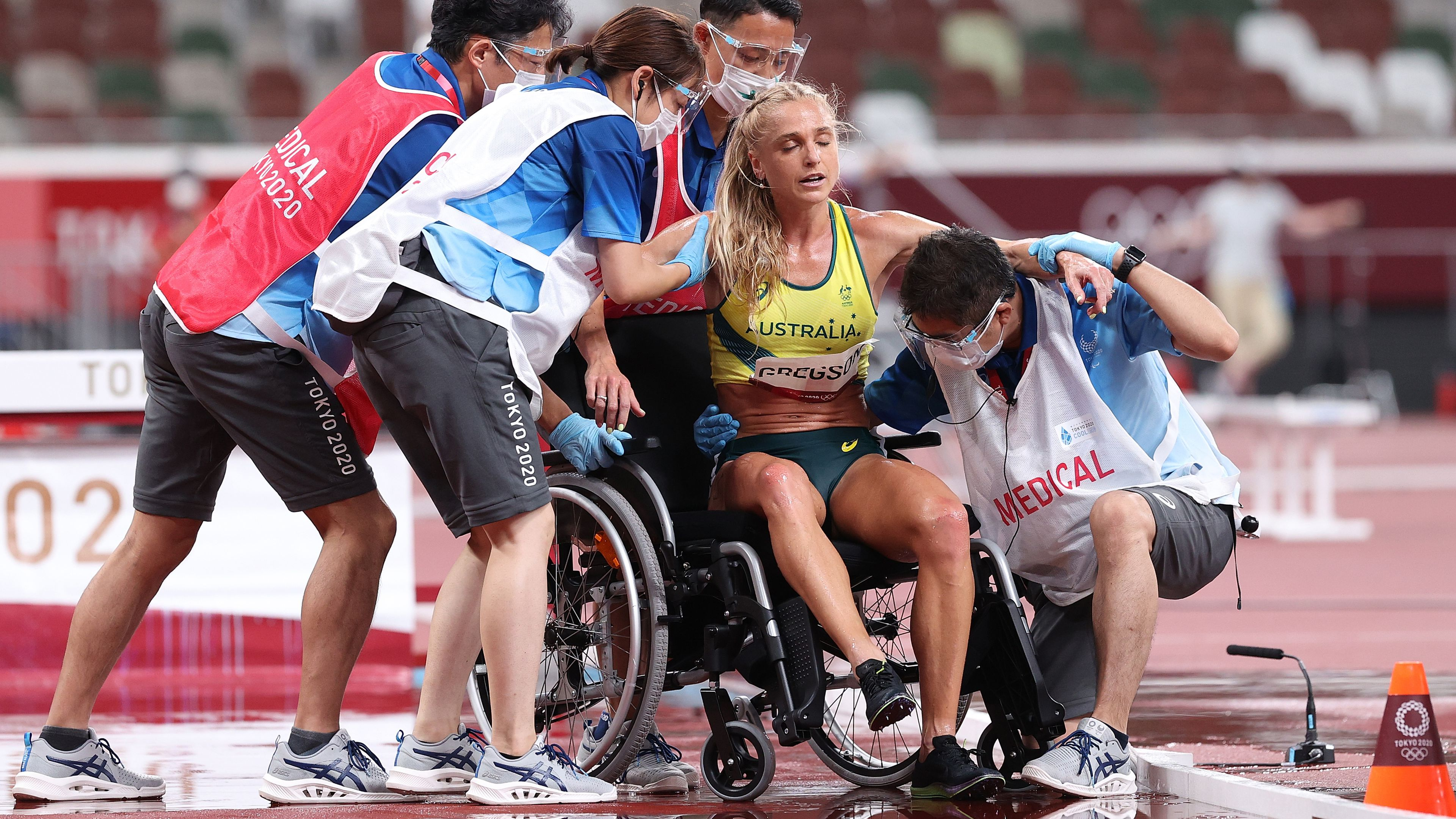 Tokyo 2021: Australia's Genevieve Gregson ruptures Achilles tendon in 3000m steeplechase