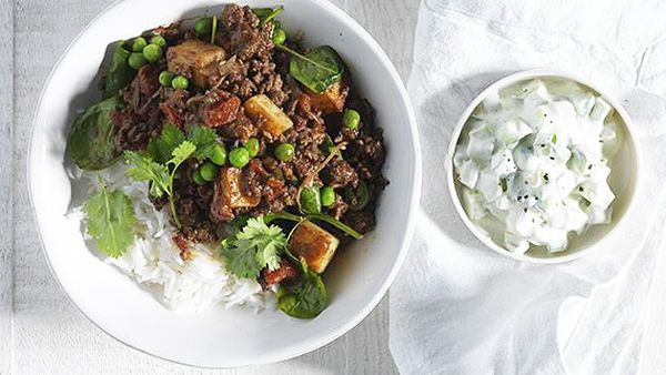 North Indian minced meat curry
