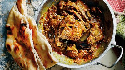 "Recipe: <a href=""http://kitchen.nine.com.au/2017/10/25/13/20/anjum-anand-slow-cooked-karnataka-pork-curry"" target=""_top"">Anjum Anand's slow cooked Karnataka pork curry</a>"