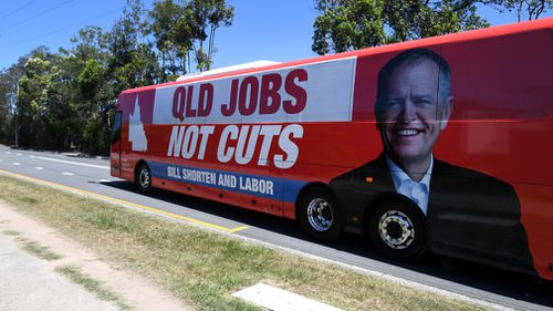 Bill Shorten Queensland Federal Election campaign