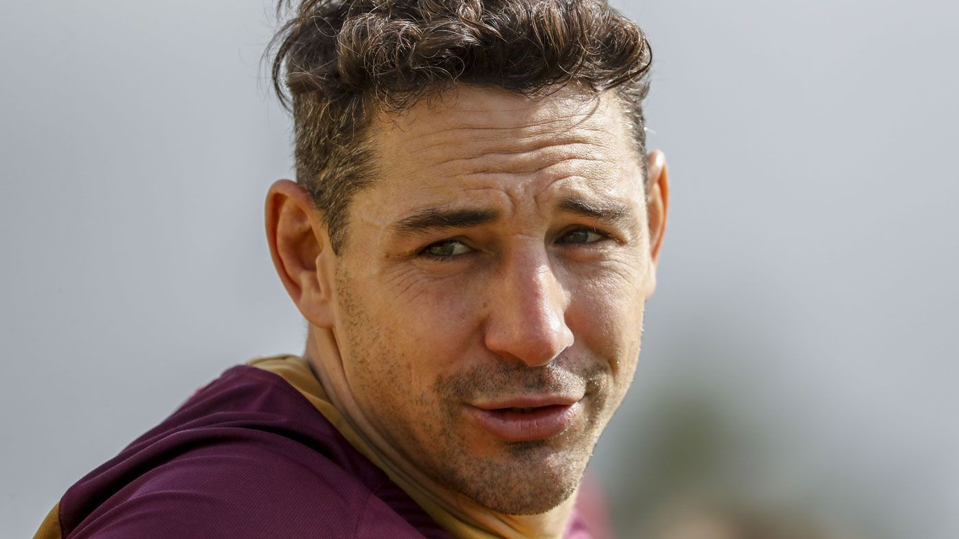 Queensland fullback Billy Slater described as having 'a bit of grub in him' by NSW five-eighth James Maloney