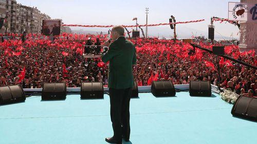 Turkish President Recep Tayyip Erdogan linked the Christchurch terror attacks to Gallipoli.