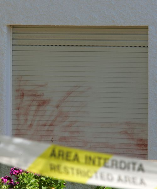 A general view of the bedroom window of the holiday apartment where Madeleine McCann went missing on May 3, 2007 in Praia da Luz, Portugal.