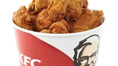 KFC now serves fried chicken skin