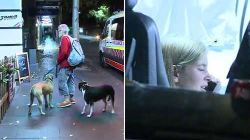 Sydney woman in hospital after suffering dog bites to her leg