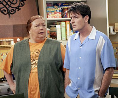 Conchata Ferrell, Charlie Sheen, Two and a Half Men