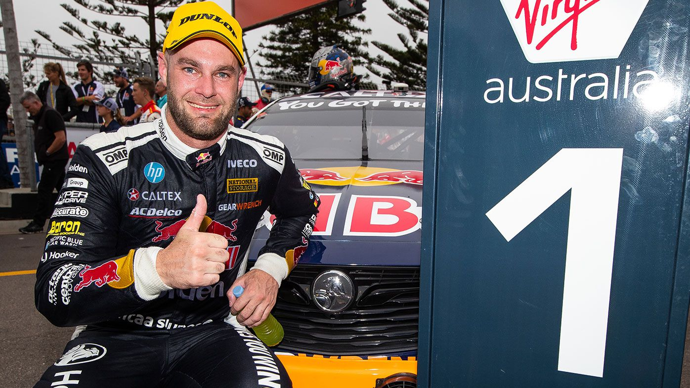 Supercars star Shane van Gisbergen takes out race one at the Newcastle 500