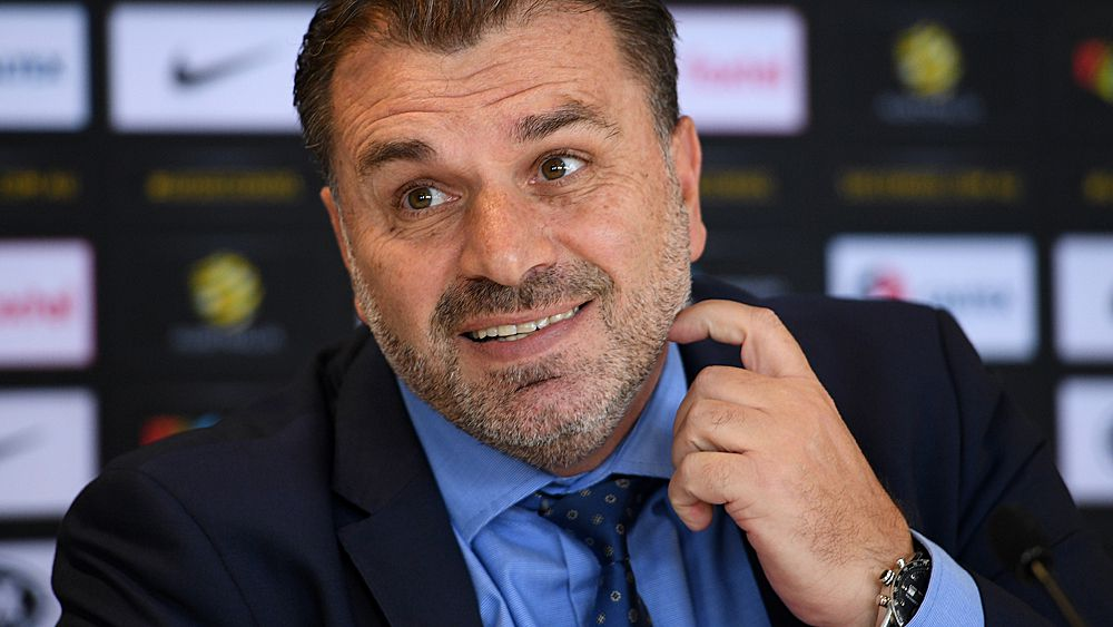 World Cup 2018: Socceroos coach Ange Postecoglou still keeping everyone guessing on future plans