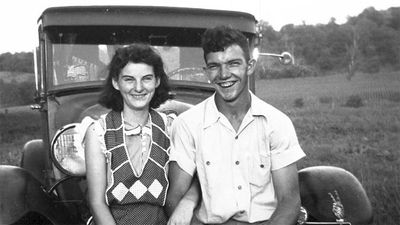 Kenneth Felumlee married his wife Helen in 1944 just two days before his 21st birthday.