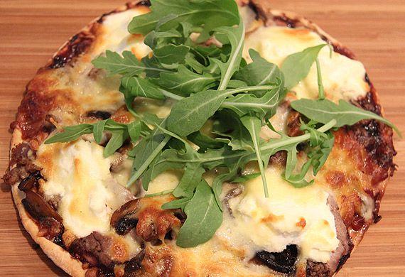 Mystic merlot pizza