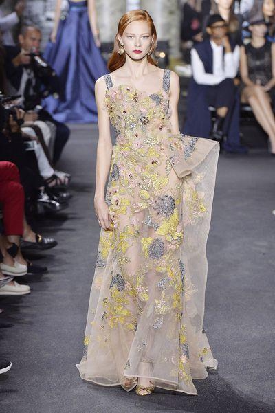 <p>Mother nature</p> <p>Elie Saab, haute couture autumn/winter, '16/'17, Paris Fashion Week&nbsp;</p>