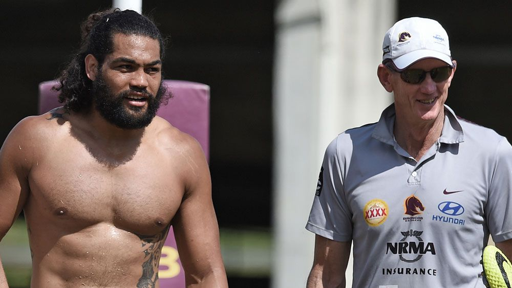 Adam Blair is indebted to Wayne Bennett for reviving his career. (AAP)