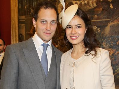 Sophie Winkleman (Lady Frederick Windsor) with Lord Frederick Windsor.