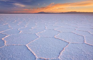 Salar de Uyuni, Bolivia's famous salt flats
