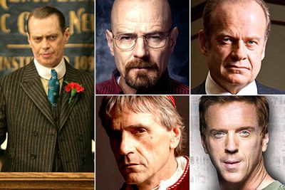 Steve Buscemi &mdash; <i>Boardwalk Empire</i><br/>Bryan Cranston &mdash; <i>Breaking Bad</i><br/>Kelsey Grammer &mdash; <i>Boss</i><br/>Jeremy Irons &mdash; <i>The Borgias</i><br/>Damian Lewis &mdash; <i>Homeland</i>
