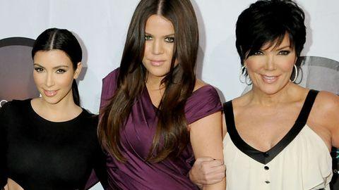 Kim and Khloe Kardashian / Kris Jenner