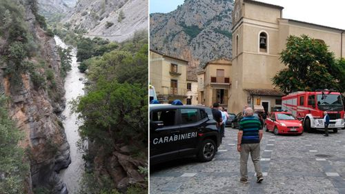 Eight hikers killed, five missing after Italian flash floods