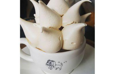 Meringue latte