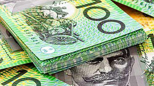 Australian $100 bills (Getty)