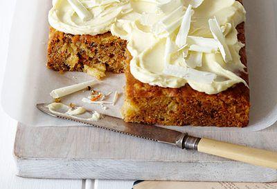 6. Carrot cake
