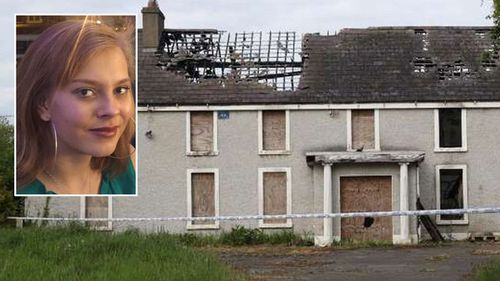 The abandoned house Ana Kriegel's naked body was found after being tortured by two teen boys.