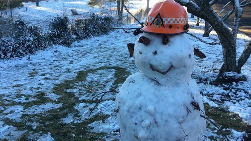 The NSW Blue Mountains are expecting particularly cold weather, with gusty winds and snow forecast.