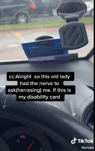 TikTok disability clash with woman at McDonalds
