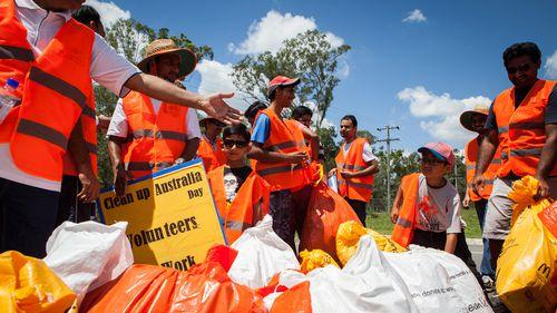 Clean Up Australia marks 25th anniversary with milestone haul