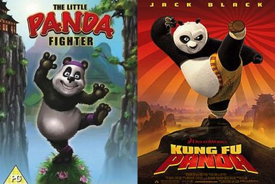 Brazilian family flick <i>The Little Panda Fighter</i> was released the same year as Dreamworks'<i> Kung Fu Panda </i>(2008), coincidence right?