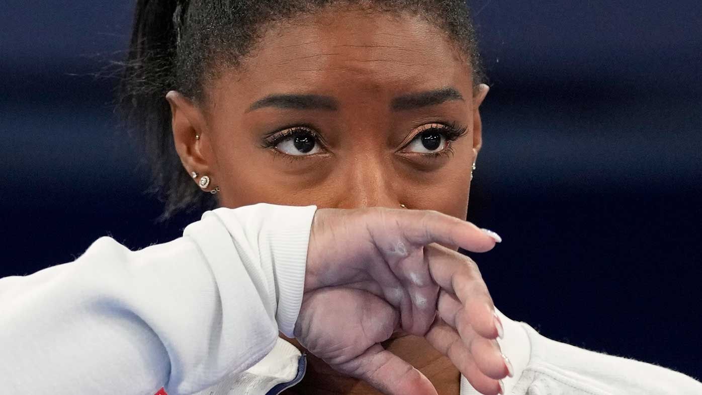 Olympic champion Simone Biles withdraws from all-round individual event
