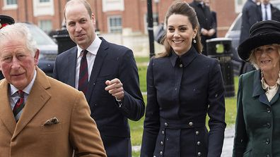 Prince Charles, Camilla and the Duke and Duchess of Cambridge  visit the Defence Medical Rehabilitation Centre Stanford Hall.