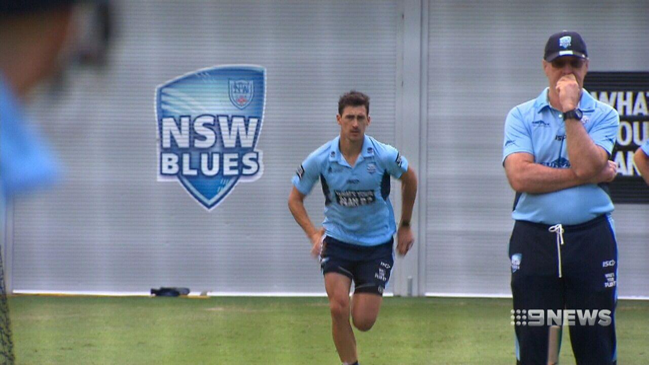 Starc gets Aussie cricket captain moving